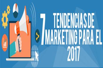 Tendencias del Marketing  para 2017 Resumidas en una Infografía