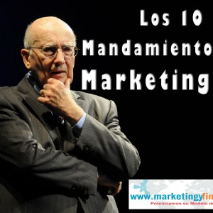 Los 10 Mandamientos del Marketing 3.0